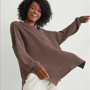 Aerie Oversized Knit Sweater